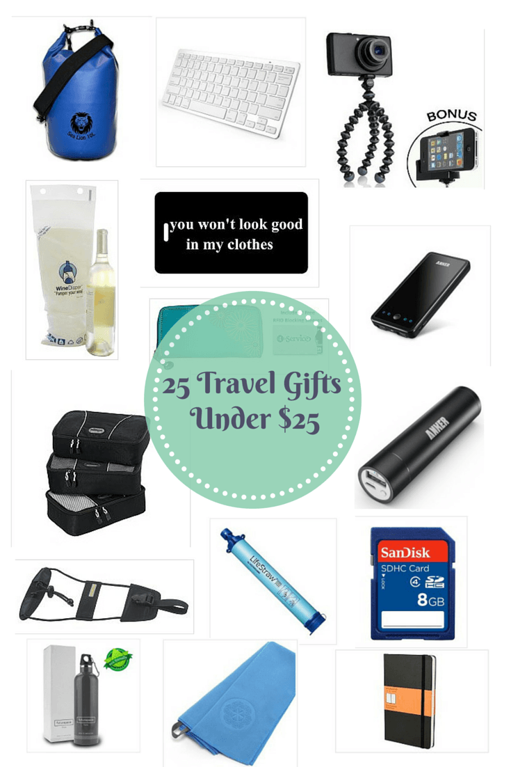 Best travel gifts under $25 Traveling Well For Less