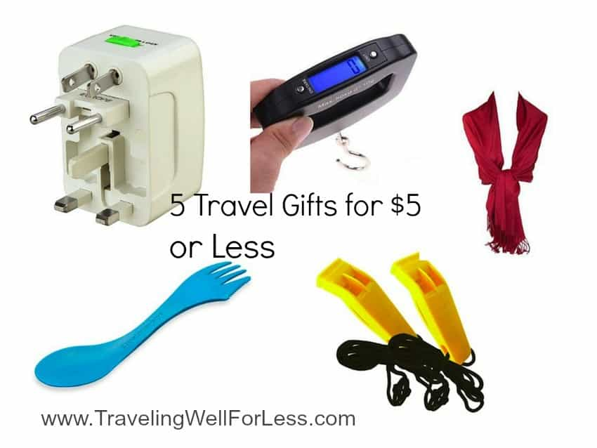 5 travel gifts for $5 or less Traveling Well For Less
