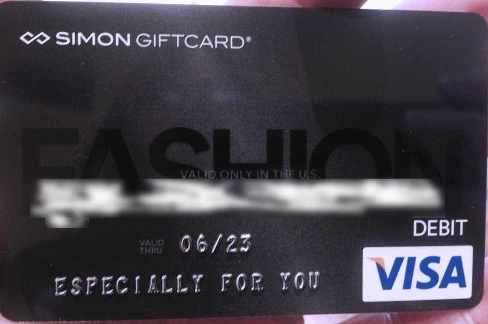 Simon Mall gift card Traveling Well For Less