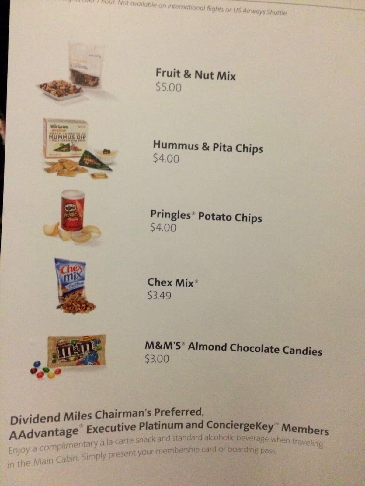 Reduced benefits for EXPs on American Airlines Traveling Well For Less
