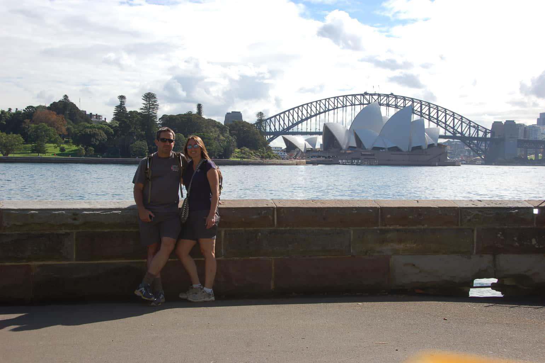 Sydney Australia Opera House and Harbor Bridge | Traveling Well For Less