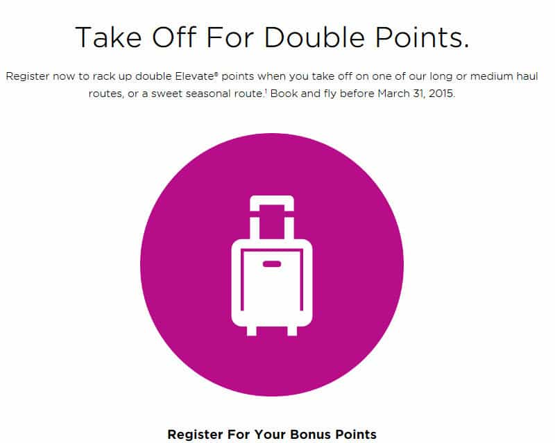 Double Points on Virgin America Traveling Well For Less