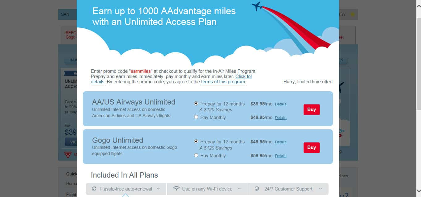 Earn American Airlines Miles With GoGo Traveling Well For Less