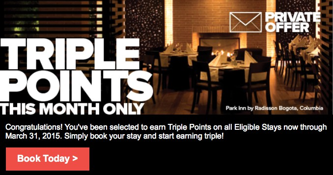 Earn triple Club Carlson points Traveling Well For Less