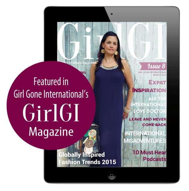 Featured in Girl Gone International Traveling Well For Less