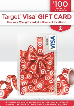Target Visa gift cards Traveling Well For Less