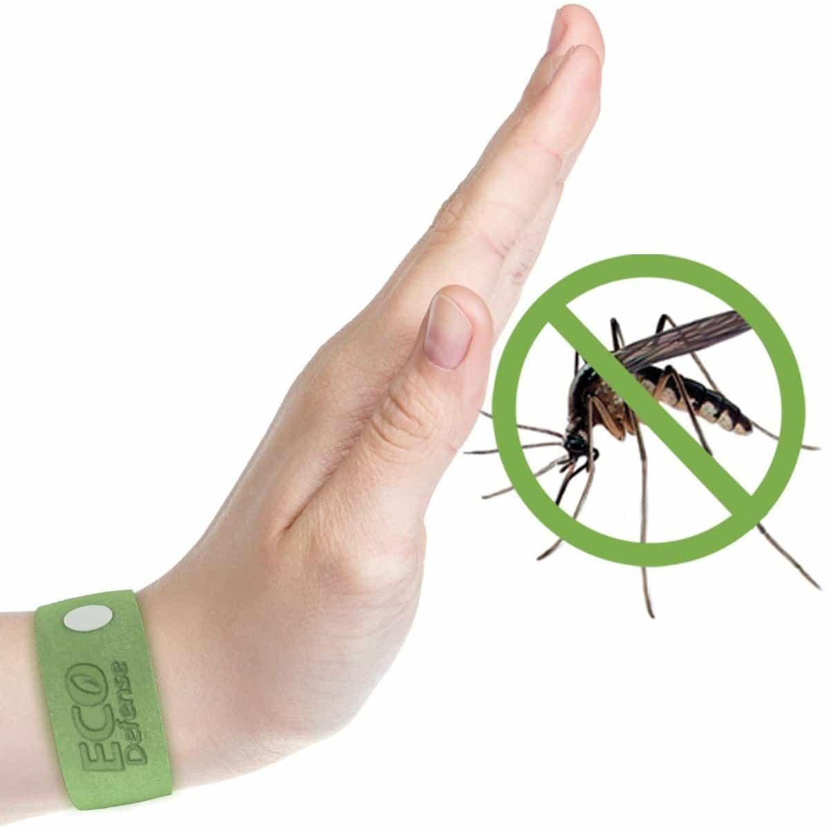 ECO Defense mosquito repellent bracelets, natural mosquito repellent