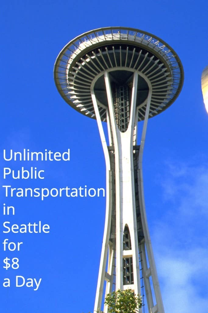 Seattle Regional Day Pass, Unlimited Public Transportation in Seattle for $8 a day vs