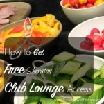 free Sheraton Club Lounge Access