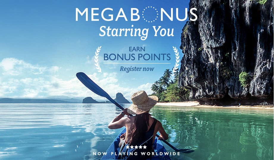 45000 Marriott points, Marriott MegaBonus