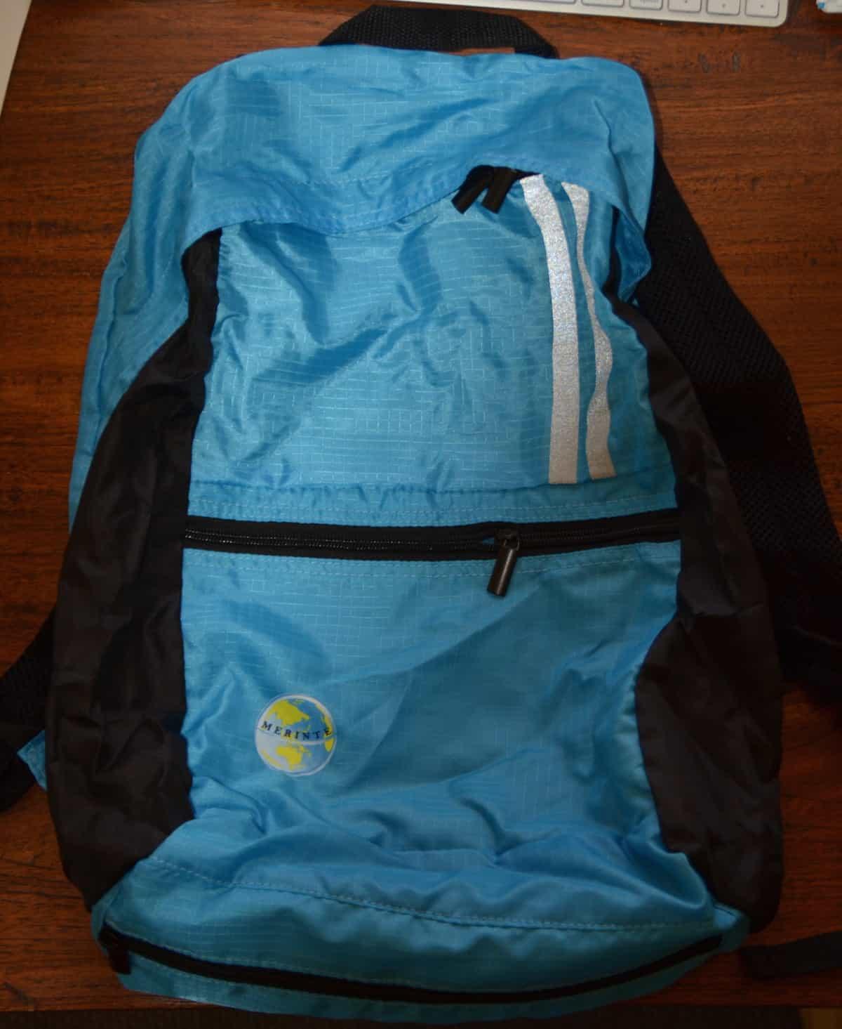 Merinte DayPack Backpack in a pocket
