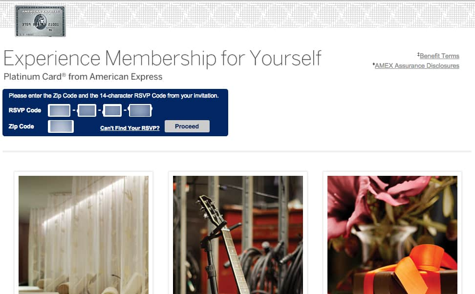 how to use someone's Amex invite code