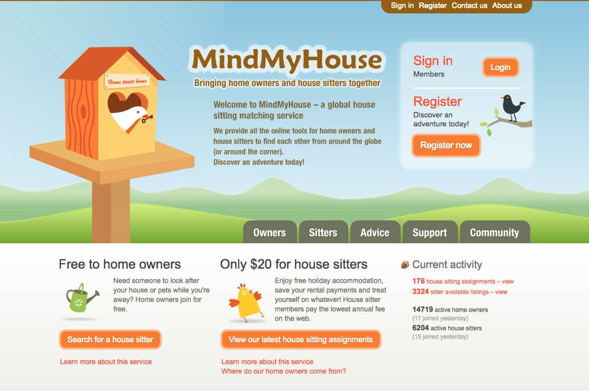 Check out resources like Mind My House and Housesit to save on accommodations and make money while traveling for free, Traveling Well For Less