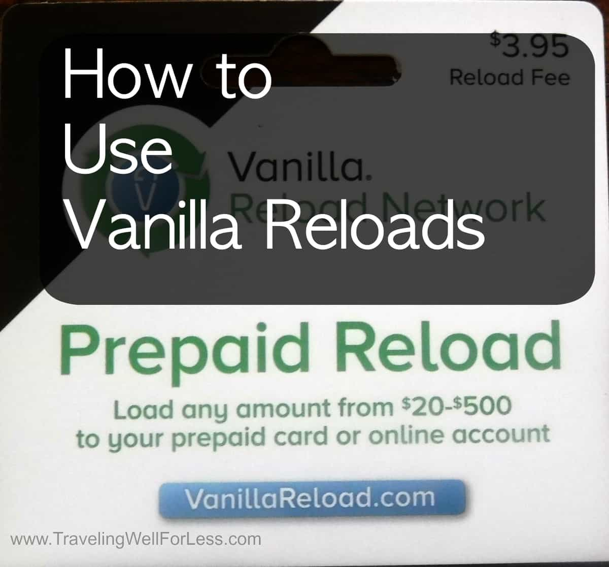 My vanilla prepaid reload card / starblucks cf