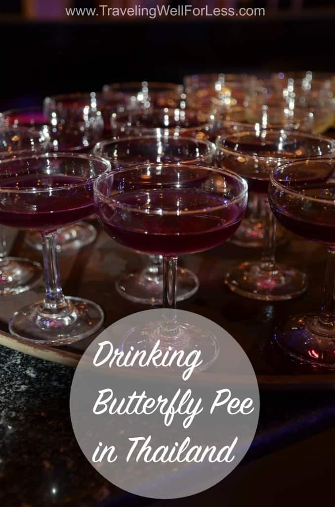 butterfly pee, butterfly pea, Thailand, Traveling Well For Less