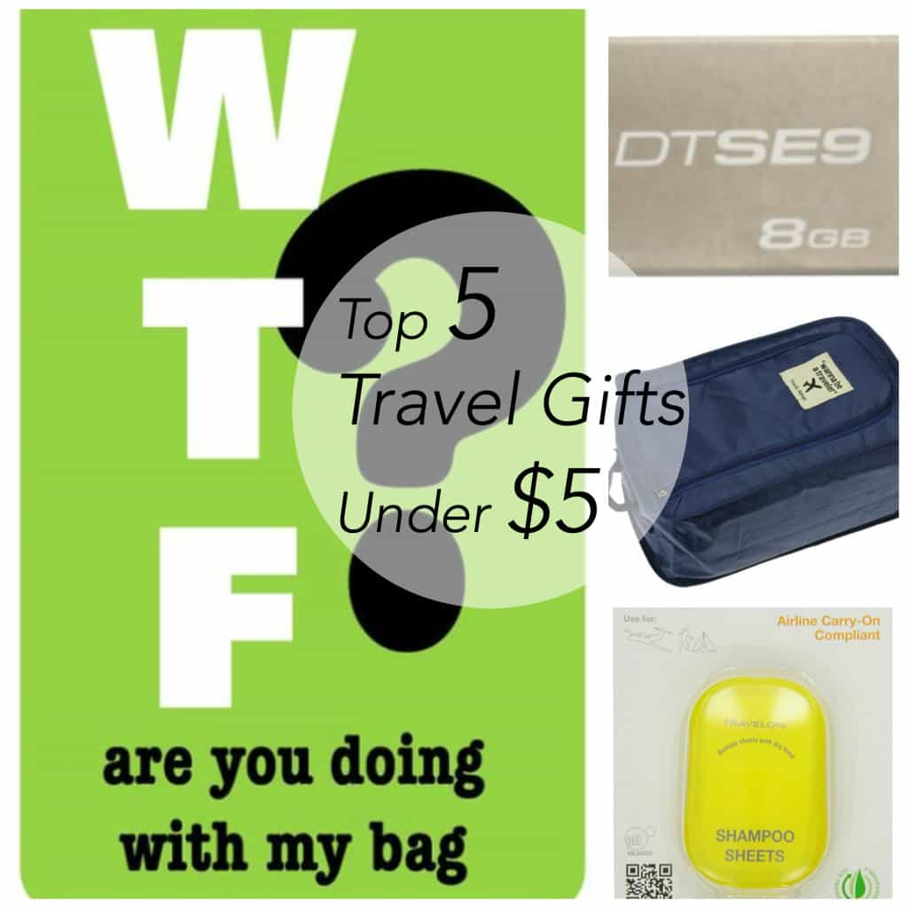 stocking stuffer, travel gifts, travel gifts for $5, Traveling Well For Less