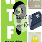 Top 5 Travel Gifts for $5