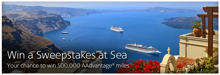 500,000 American Airlines miles, American Airlines cruises, Traveling Well For Less