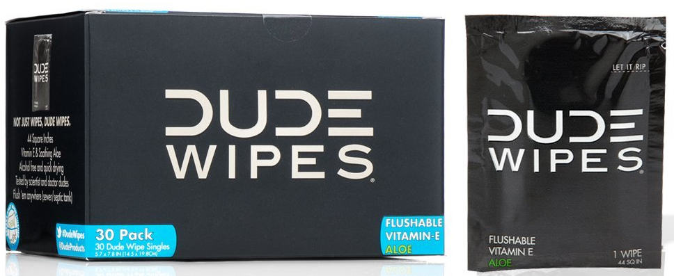 dude wipes, disposable wipes, travel gifts, 25 travel gifts for $25 or less, Traveling Well For Less