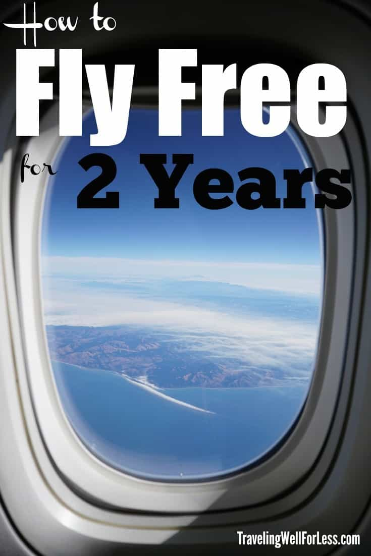 Say goodbye to expensive airfare with this simple travel hack and learn how to travel for free. Here's how to fly free for two years. Traveling Well For Less