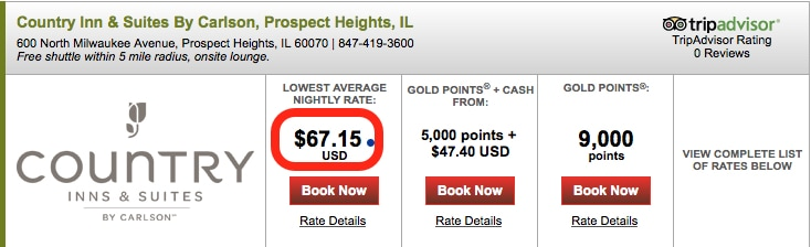 Country Inn & Suites Prospect Heights Traveling Well For Less