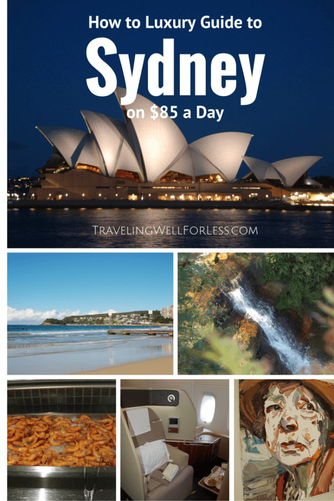 Do you know the secrets and tricks to doing Sydney on a budget in luxury? Checkout this How To Luxury Guide to Sydney for $85 a day including airfare, hotel & food. TravelingWellForLess.com
