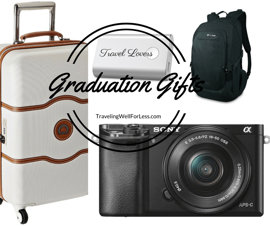 Need a graduation gift? Read our travel gift guide for the graduate who loves to travel. TravelingWellForLess.com
