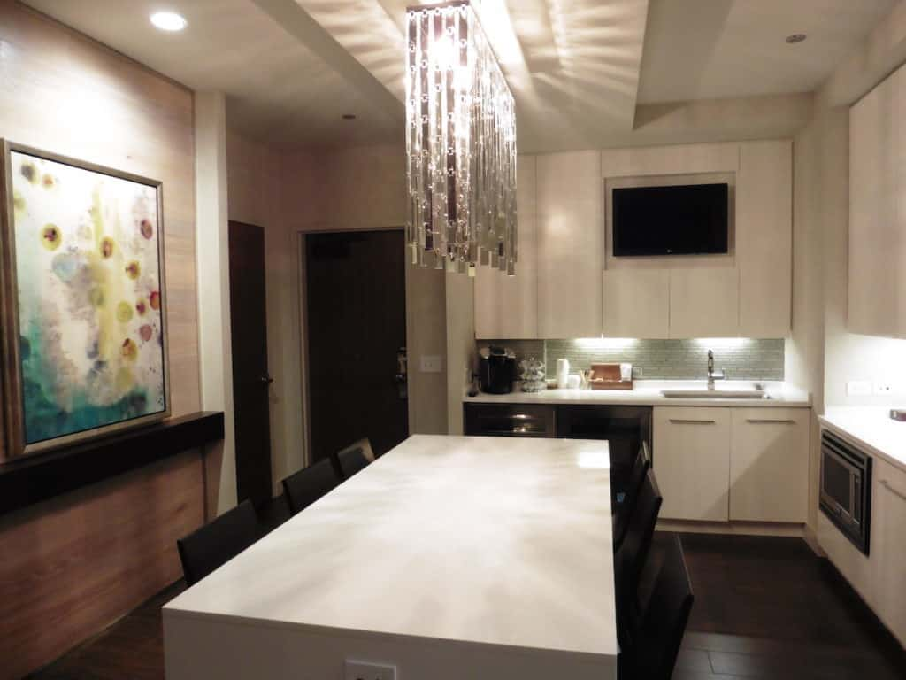 You can prepare a light meal, order room service, or bring food to eat in the Park Suite kitchenette. TravelingWellForLess.com