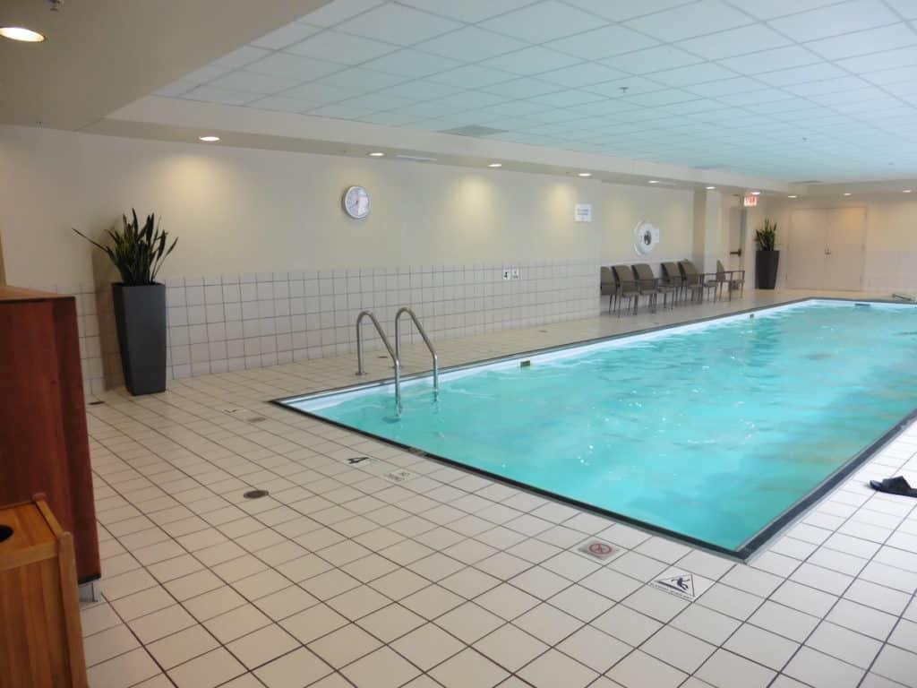 The Hyatt Regency McCormick has a two-lane indoor heated pool. TravelingWellForLess.com