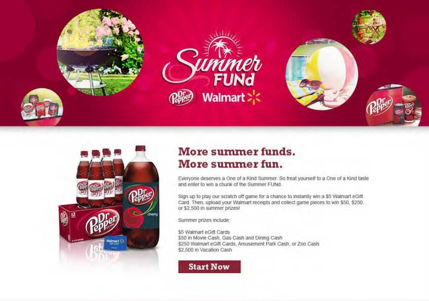 Win up to $2,500 with the Dr Pepper #SummerFUNd contest