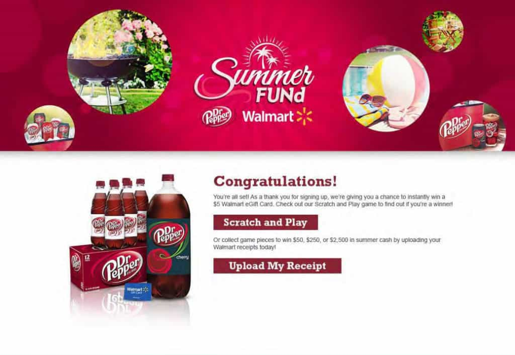Enter the Summer FUNd sweepstakes from Dr Pepper®. Scratch and Play or Upload your receipt. TravelingWellForLess.com