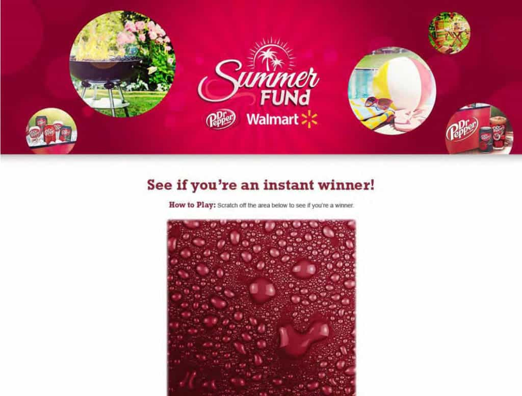 Will you be an instant winner in the Summer FUNd from Dr Pepper®? Traveling Well For Less