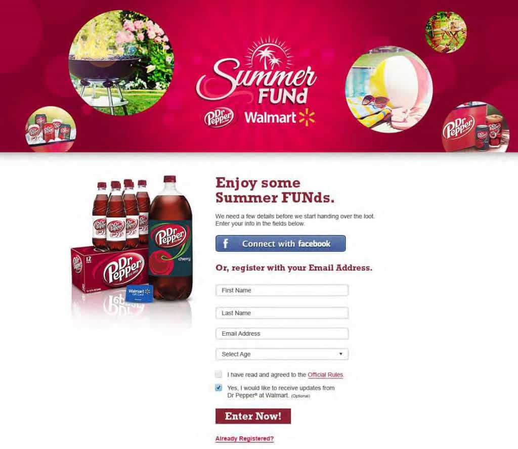 Sign up for Summer FUNd from Dr Pepper® and win $5, $50, $250, or $2,500. TravelingWellForLess.com