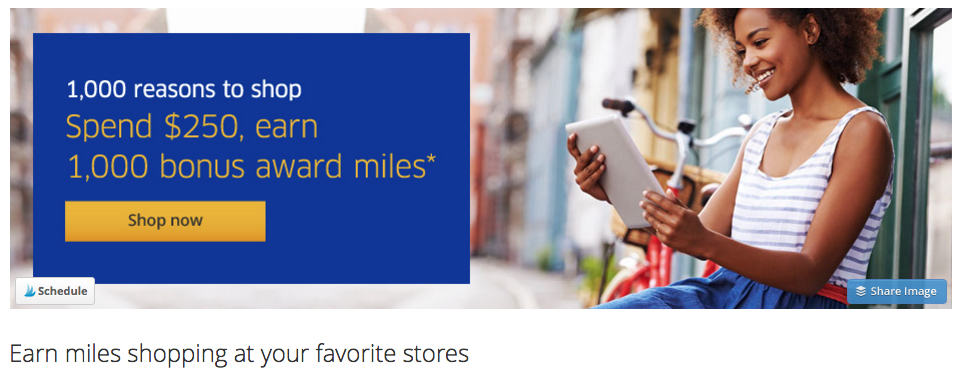 You can get an easy 1,000 United miles for shopping? You can even shop from the comfort of your home. It's that easy. Traveling Well For Less