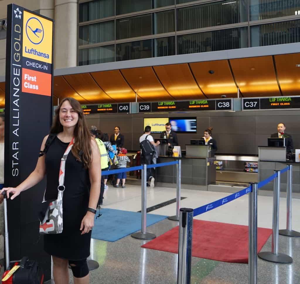 Lufthansa First Class. TravelingWellForLess.com