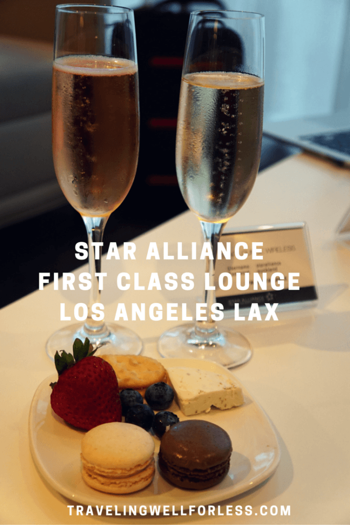 A quiet retreat within LAX awaits First Class passengers. Click on this pin to read Star Alliance First Class Lounge Los Angeles Airport LAX review. TravelingWellForLess.com