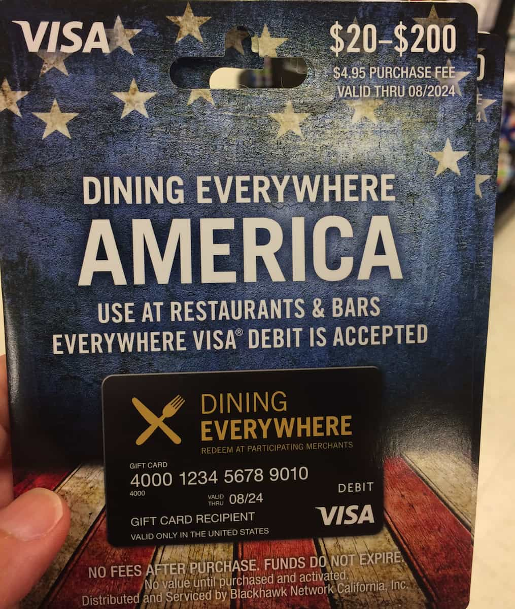 Dining Everywhere Visa
