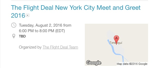 The Flight Deal Meet and Greet Ticket Available. https://www.travelingwellforless.com
