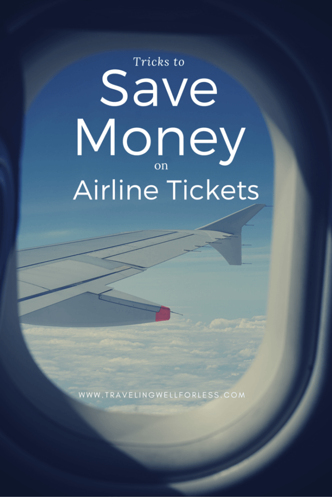 Travel like a pro with these simple tricks to save money on airline tickets. Click on this pin to read more at TravelingWellForLess.com