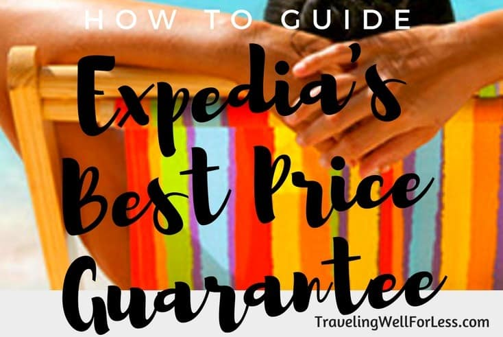 Get the best price on Expedia. Read our how to guide to Expedia's Best Price Guarantee. https://www.travelingwellforless.com/2016/08/20/how-to-guide-on-expedia-best-price-guarantee/