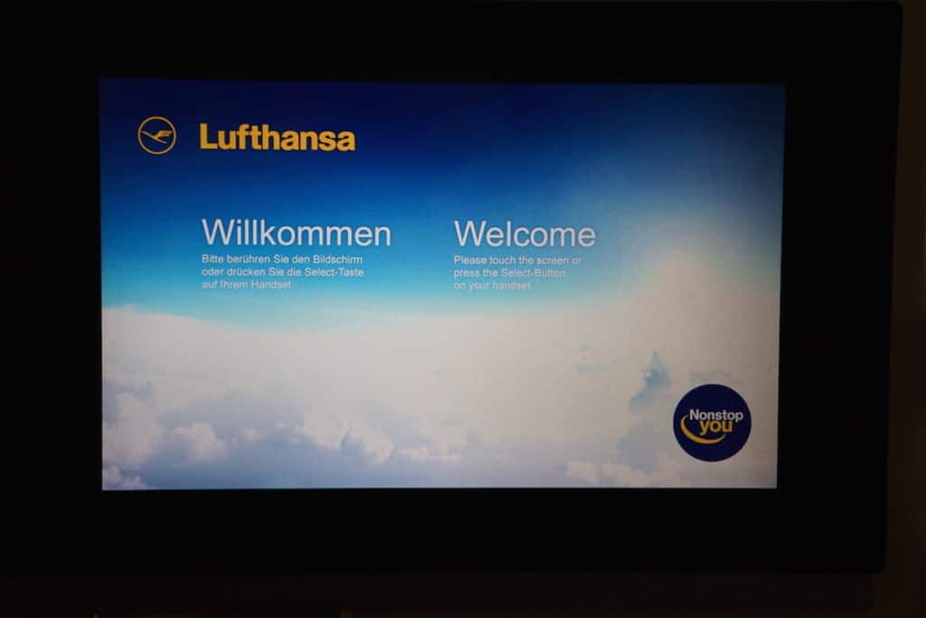 In-Flight entertainment on Lufthansa includes movies, TV shows, music, news, games, audio books, and an exercise program. http://www.travelingwellforless.com