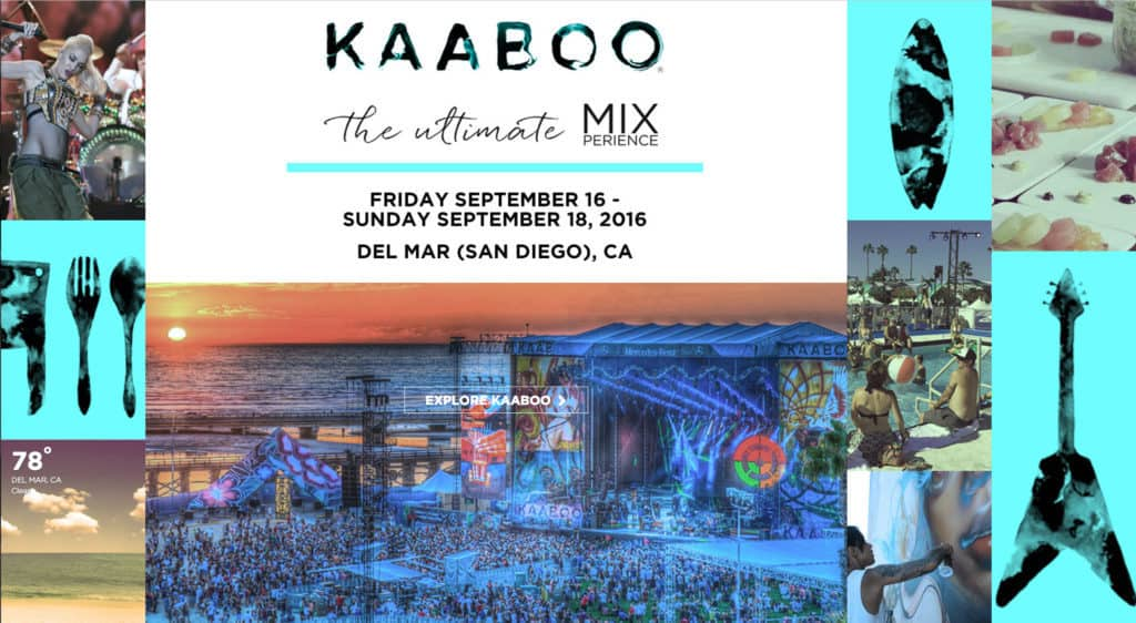 How to save on KAABOO passes, parking, and accommodations. http://www.travelingwellforless.com