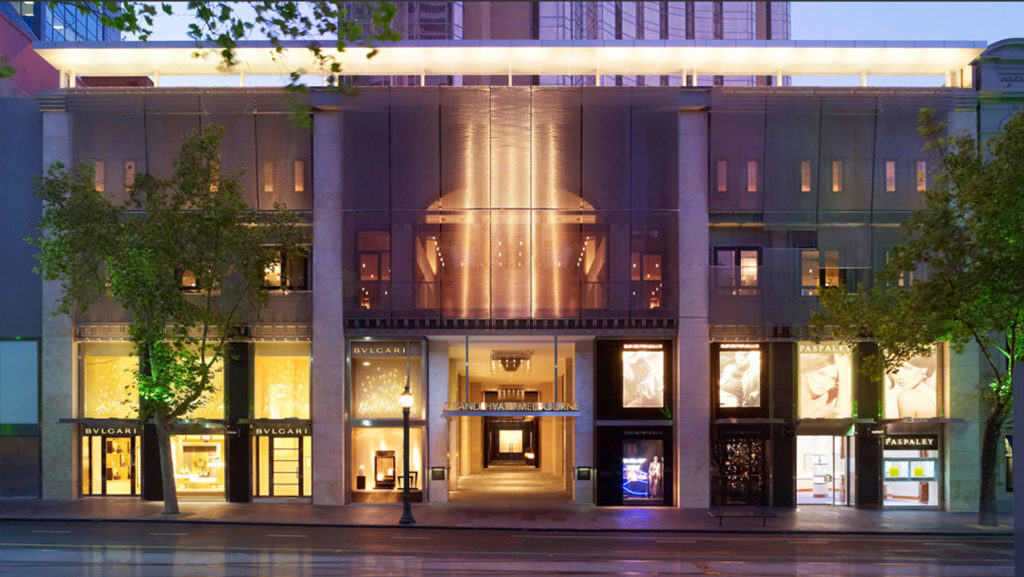 It was cheaper to use points at the Grand Hyatt Melbourne. TravelingWellForLess.com