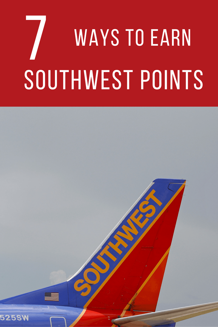 Need points to get a Southwest Companion Pass (2 years of free travel)? Travel expert Debra Schroeder shares 7 ways to earn Southwest points this holiday. https://www.travelingwellforless.com
