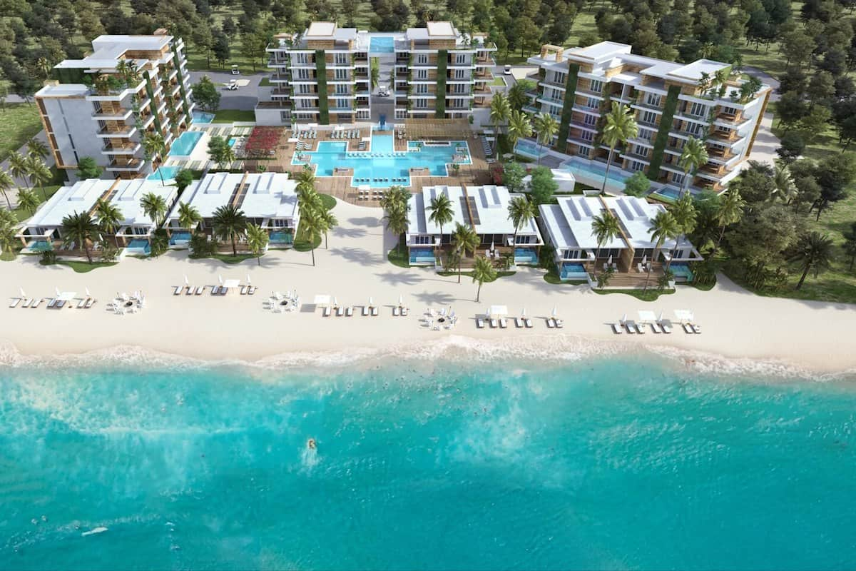 beachfront hotel on tropical island, alaia belize autograph collection