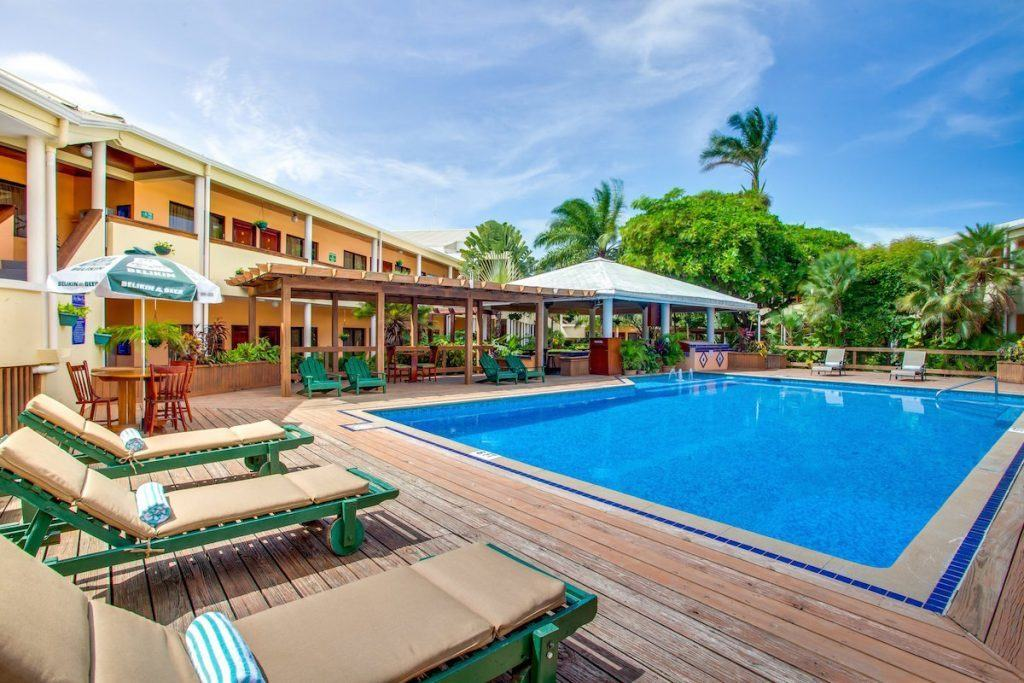 Save your hotel points and pay cash at the Best Western Belize. http://www.travelingwellforless.com