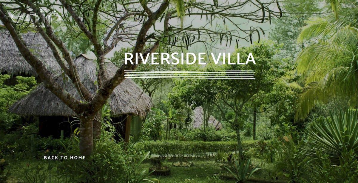 riverside villa, gaia riverlodge belize