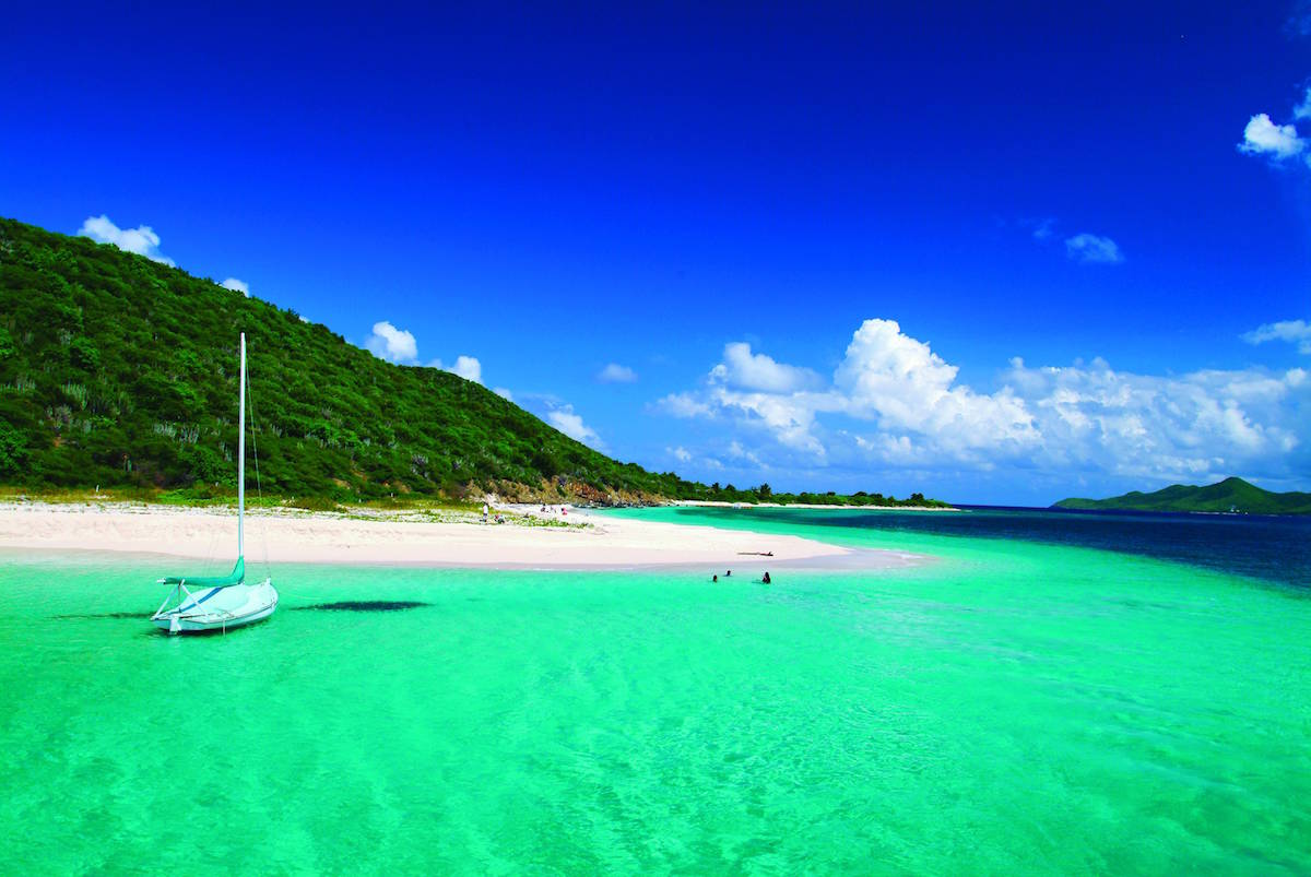 How To Get  Free When You Visit The US Virgin Islands - Map location of us virgin islands