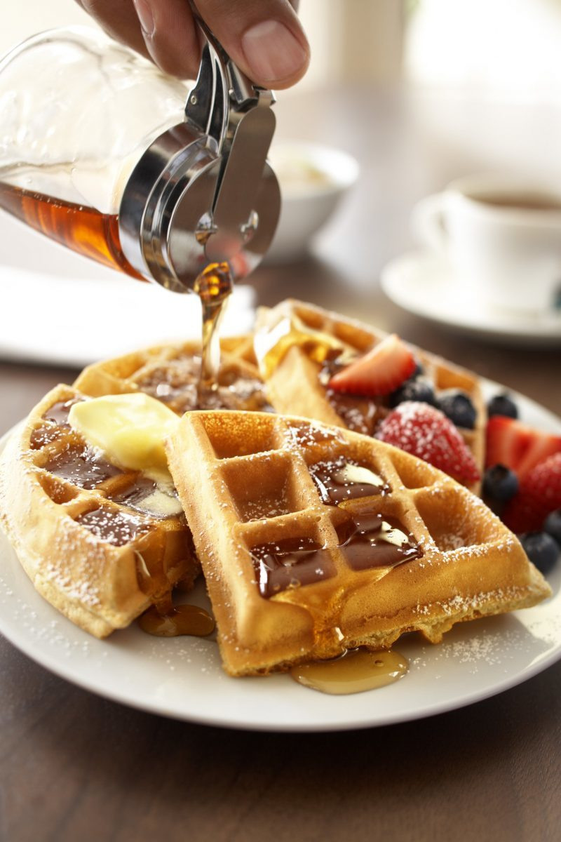 Fresh waffles at Country Inn & Suites Anaheim | Disneyland hotel | California