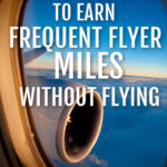 view through plane window 7 easy ways to earn frequent flyer miles without flying